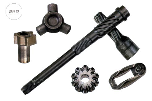 Parts created by Cold Former